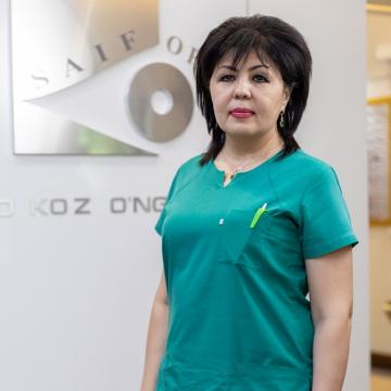 Гулчехра Назарова Кабуловна
